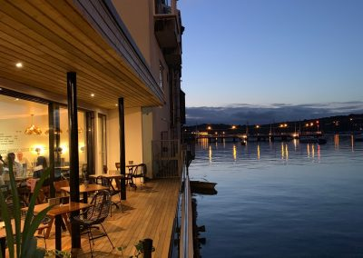 Restaurant with stunning harbour views in Falmouth. Cornwall