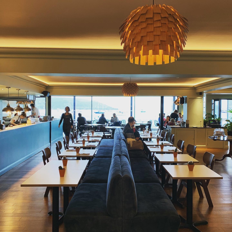Stunning interior in this gorgeous restaurant