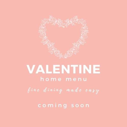 Valentine Menu 2021