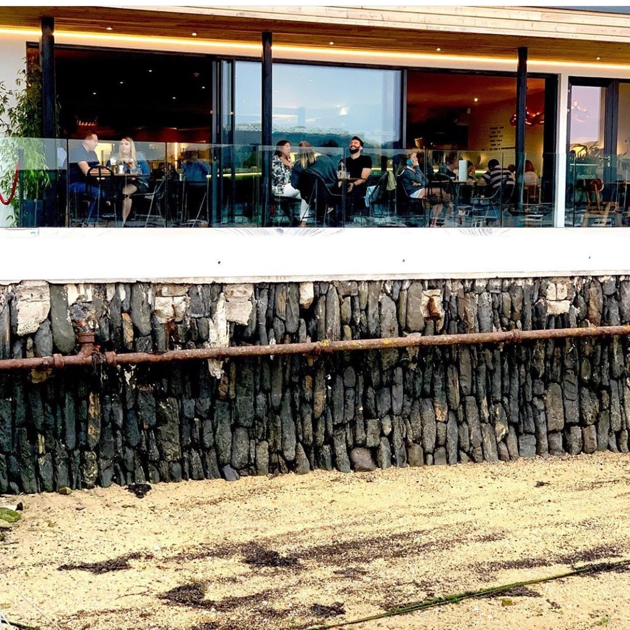 Restaurant in Falmouth stunning water views