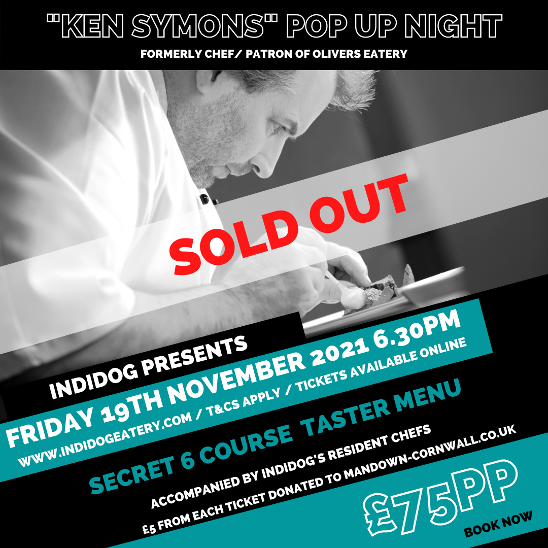 Chef Ken Symons sold out